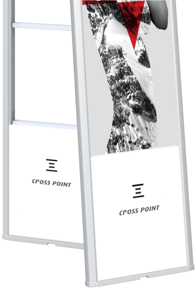 Change your advertising panels with ease - Cross Point