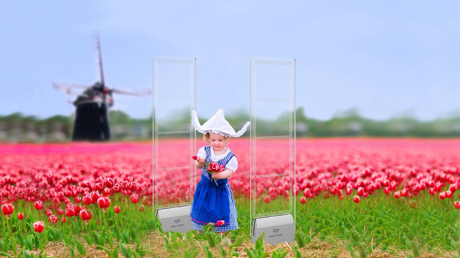 Cross Point EAS Antennas made in the Netherlands - Tulips