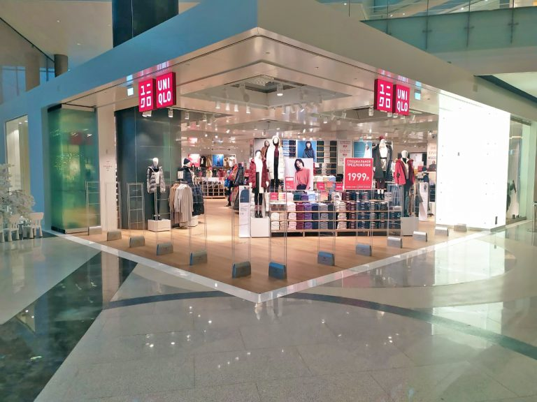 Uniqlo and Cross Point